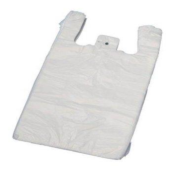 Plastic hemddraagtassen - 1000 stuks