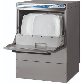 Vaatwasser elektronisch   50x50cm   met afvoer en zeepdoseerpomp   400V