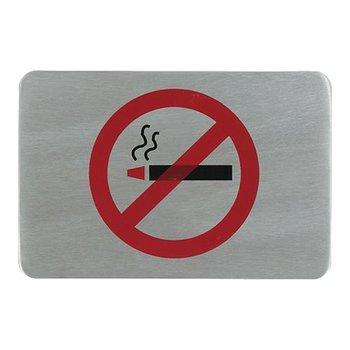 Tekstplaatje rechthoekig - rookverbod