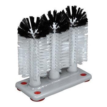 Glazenspoelborstel - nylon hoog