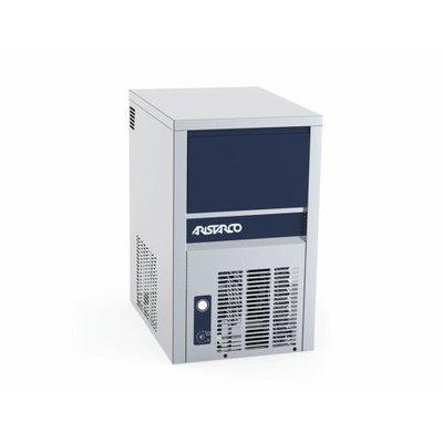 IJsblokjesmachine Aristarco CP20.6   Vaste wateraansluiting   Volle ijsblokjes 18g   20kg/ 24uur   Bunker 6kg