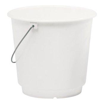 Emmer kunststof - wit 10 liter