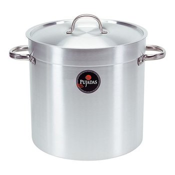 Kookpan pujadas - alu hoog - 34 liter