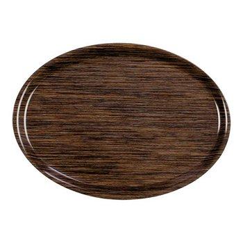 Dienblad ovaal - woody - 28x20cm