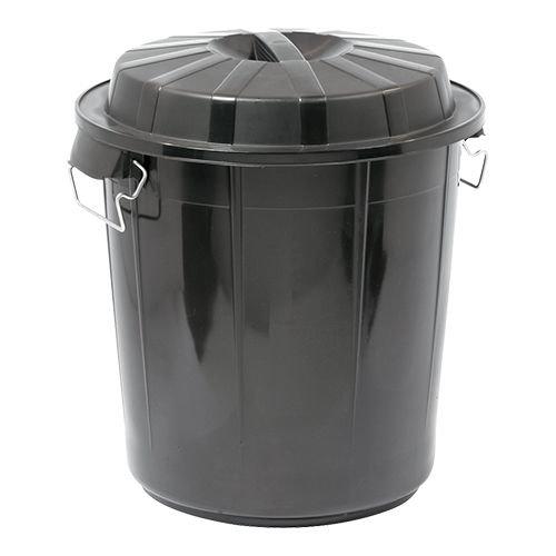 Afvalton met deksel - 50 liter
