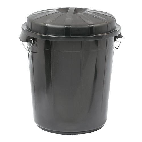 Afvalton met deksel - 70 liter