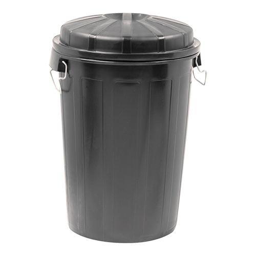 Afvalton met deksel - 95 liter