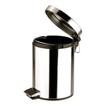 Pedaalemmer rvs klein - 5 liter