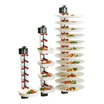Bordenrek - wandmodel - 6 borden