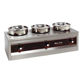 Foodverwarmer - 3 potten