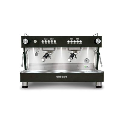Ascaso Barista T one espresso machine - 2 groeps - black - (H)53,5 x (B)70 x (D)47,5cm