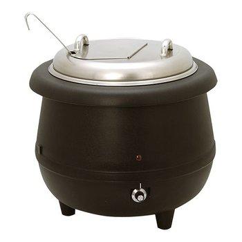 Soepketel - klapdeksel - 10 liter