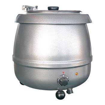 Soepketel bistro - 10 liter grijs