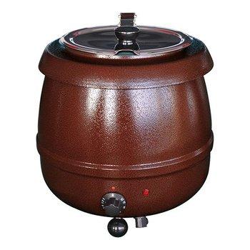 Soepketel bistro - 10 liter bruin