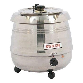 Soepketel bistro - 10 liter roestvrijstaal