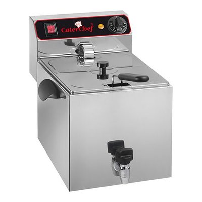 Friteuse CaterChef - 9 liter + tap