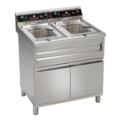 Friteuse CaterChef - staand 12+12 liter