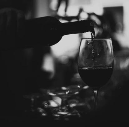 Horeca - glas wijn