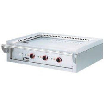Teppanyaki grill - tafel - elektrisch - 3 zones