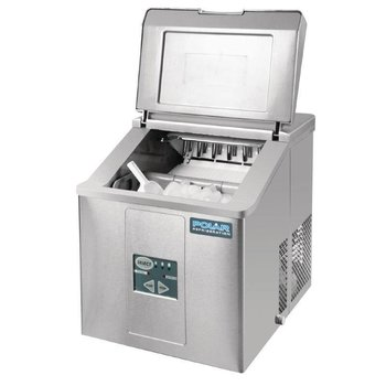 IJsblokjesmachine Polar | handmatig water vullen | holle ijsblokjes | 17kg/24u | 2kg bunker