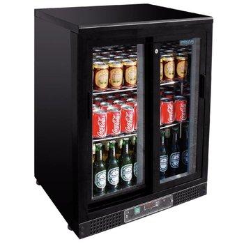 Bar display koeling | schuifdeur | zwart | 140L | (H)92,5x(B)60x(D)54