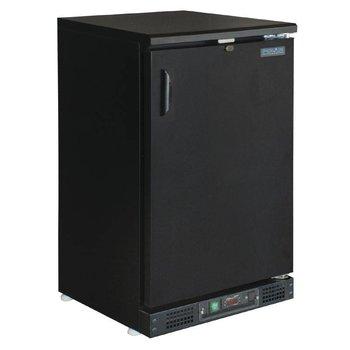 Bar dichte koeling | klapdeur | zwart | 140L | (H)92,5x(B)60x(D)53,5