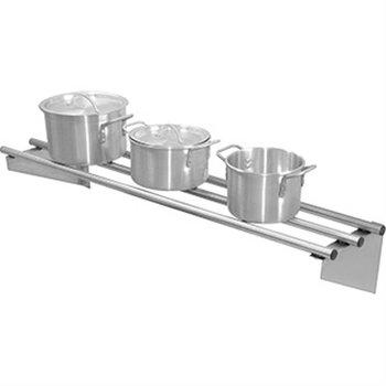 Wandplank RVS buizen tot 75kg - 150x30cm