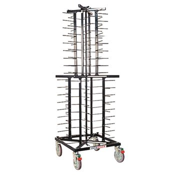 Bordenrek Jackstack - wielen - 72 borden