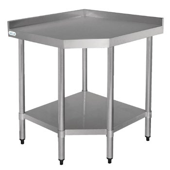 Werktafel flat-pack - hoekmodel - (B)80x(D)60