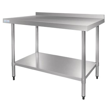 Werktafel flat-pack - achteropstand - 60(B)x70(D)cm
