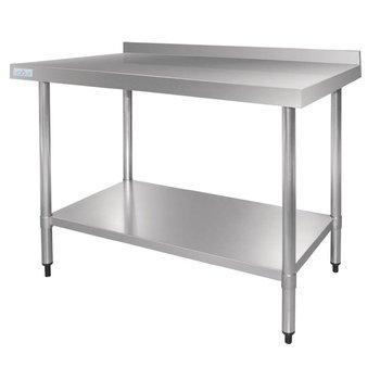 Werktafel flat-pack - achteropstand - 120(B)x70(D)cm