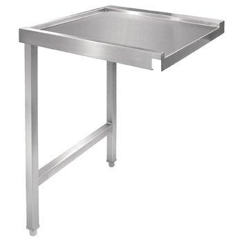Aan/afvoer tafel - links 60cm