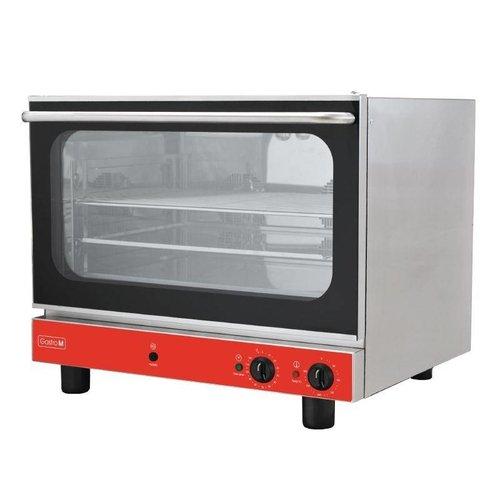 Gastro M Heteluchtoven Gastro M - 4x 60x40cm - 230 volt - met vocht injectie functie