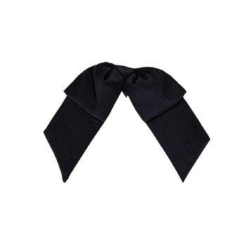 Horeca damesstrik - clip on zwart