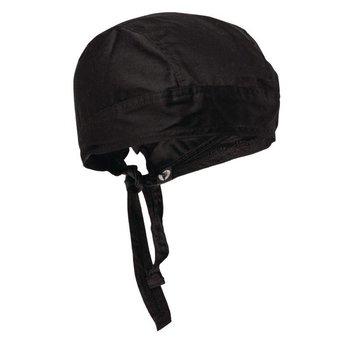 Horeca chef hoofddoek - zwart