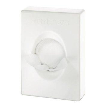Toilet hygiënische zakjes dispenser - wit