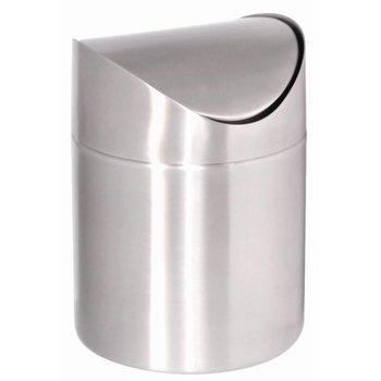 Mini afvalbak tafelmodel - RVS