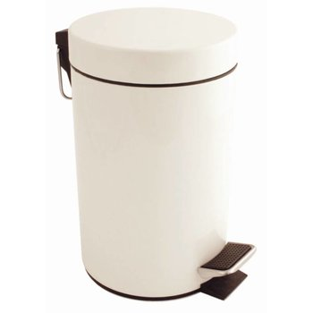 Pedaalemmer wit - 3 liter