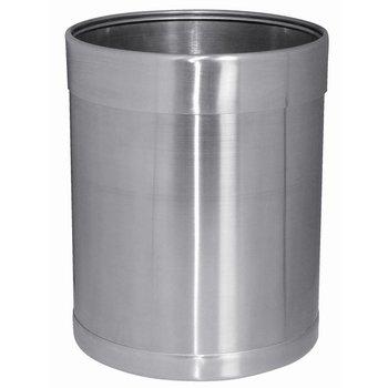 Prullenbak roestvrijstaal - 10,2 liter