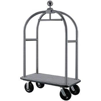 Hotel lobby bagage trolley