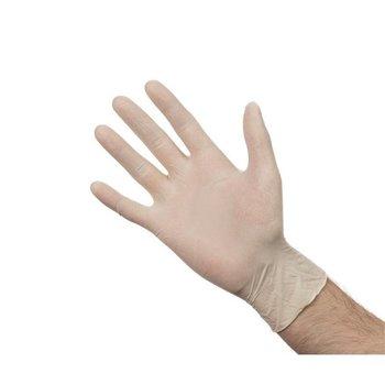 Latex handschoenen - poeder vrij size S - 100 stuks