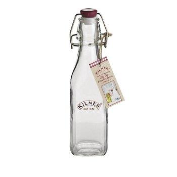 Glazen fles met beugelsluiting Kilner - 250ml
