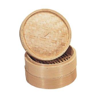 Bamboe stoommandje -  Ø15cm
