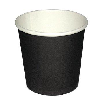 Koffiebekers - espresso - 11cl zwart - 1000 stuks