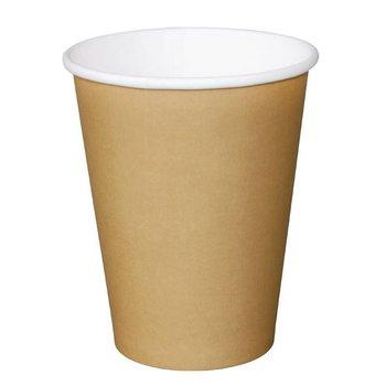Koffiebekers - 23cl lichtbruin - 50 stuks
