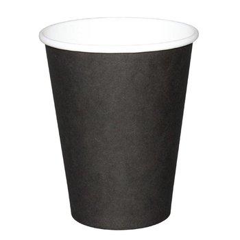 Koffiebekers - 34cl zwart - 1000 stuks