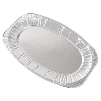 Aluminium wegwerp borrelschalen - 56cm - 10 stuks
