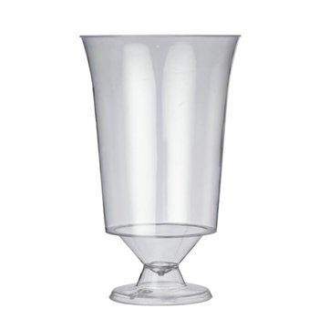 Plastic wijnglazen - 18cl - 10 stuks
