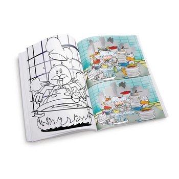 Horeca kinderkleurplaat - Chef - 50 stuks