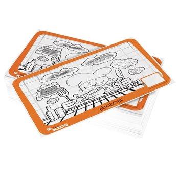 Horeca kinderkleurplaat placemat - 200 stuks